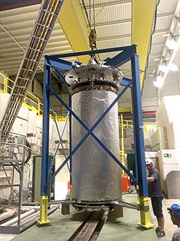 Supraleitendes Magnetsystem für das ALPHA-g Experiment im CERN